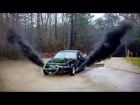 Monster Hot Rod Wild Thang Shooting Flames, Loud Engine Sound and Rev! Extreme Automotive Prolong - YouTube