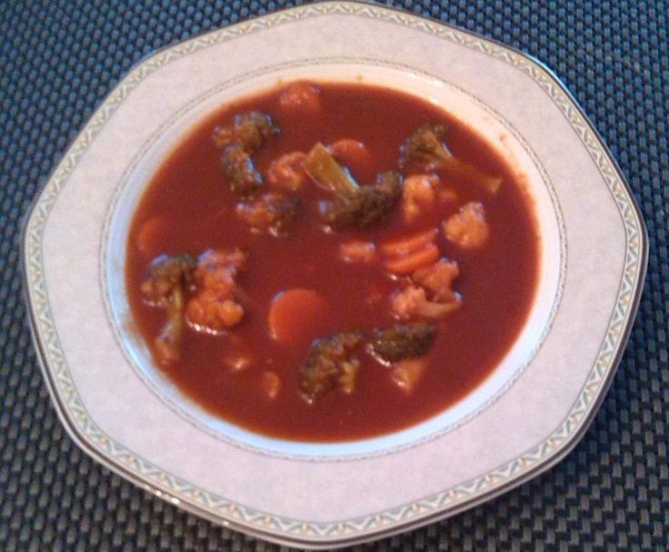 Rezept Tomaten-Gemüse-Suppe weight watchers geeignet von marsala72 - Rezept der…