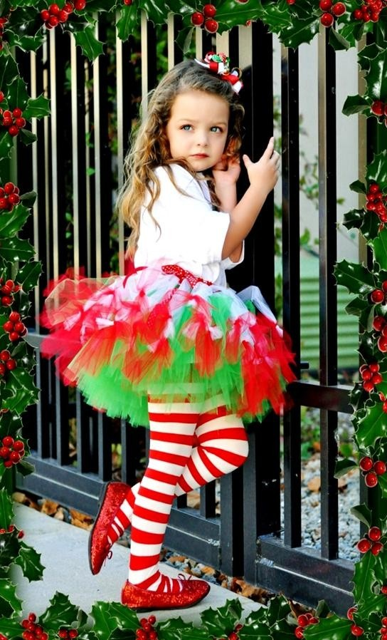 christmas tutu princess petti tutu navidad elfos animacin infantil fiestas fiesta