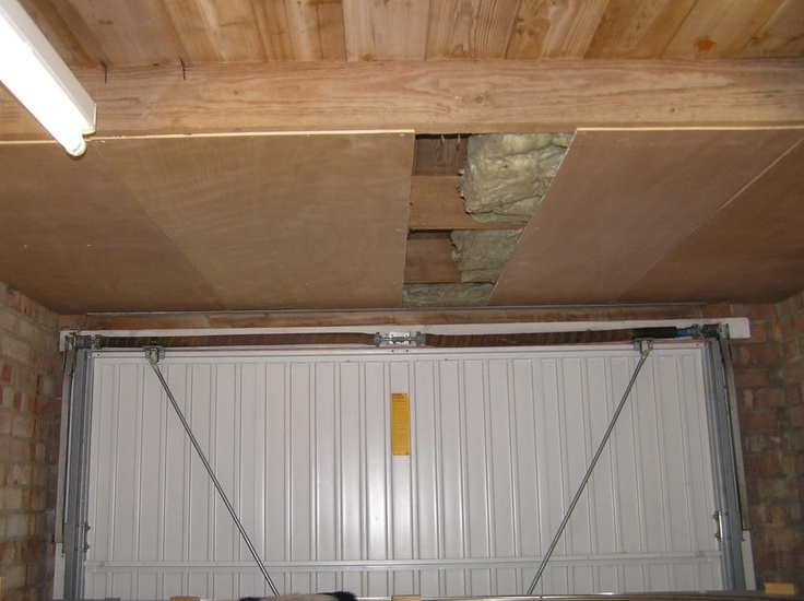 As You Go Insulation For Garage Ceiling Luan Insulation