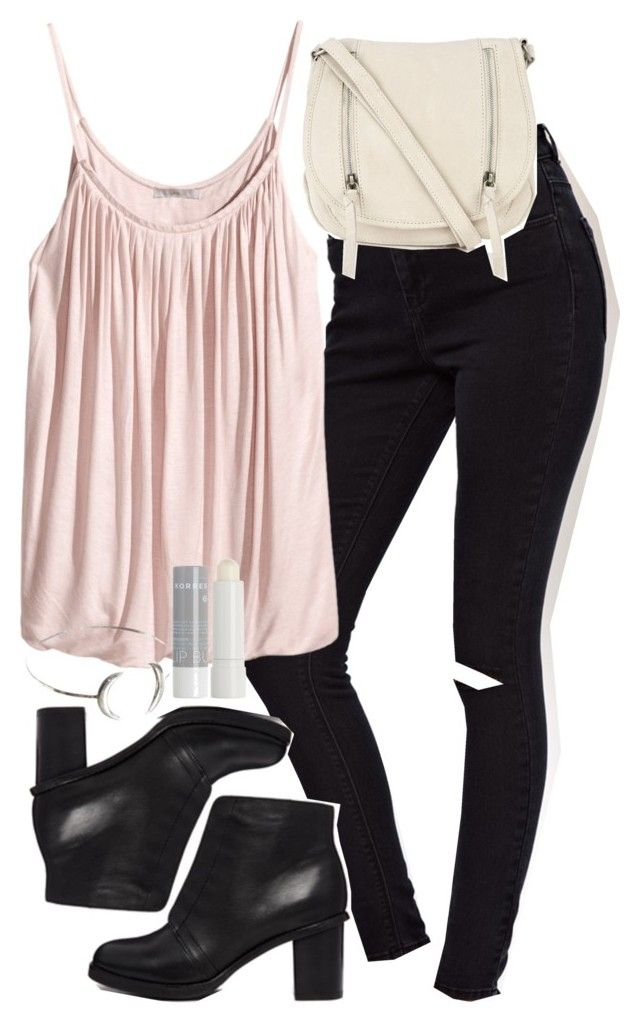 """""""Derek Inspired Reunion Outfit"""" by veterization ❤ liked on Polyvore featuring ASOS, H&M, Korres and Oasis"""