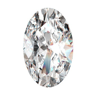 Diamond Shape: Oval - Essentially an elongated circle, an oval-shaped diamond can have just as many facets as a round-cut stone, which means it has the capacity to sparkle just as much. This elegant shape is a favorite among sophisticated brides who are also striving for something unique.