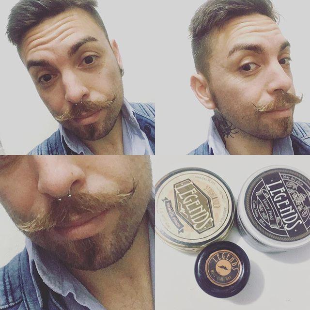 L3 Q lindo encontrar buenos productos q le permitan a uno alcanzar sus metas capilares 💪🏻😍gcias @legendshairpomade 💯% recomendable #look #viernes #pelo #vintage #bigote #instachorchi #tattoo #tatuaje #septum #bull look,viernes,pelo,tatuaje,vintage,tattoo,septum,bigote,bull,instachorchi