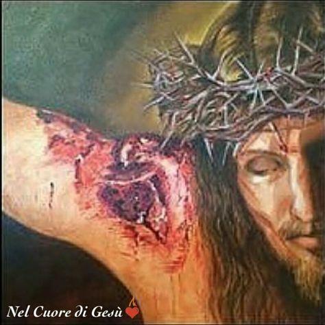La sesta piaga di Gesù, quella più dolorosa, quella più nascosta è quella per la quale ci concede le grazie più grandi e difficili, recitiamo