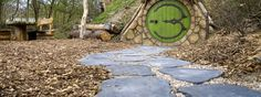 Hobbit-Wohnung Campingplatz Holland