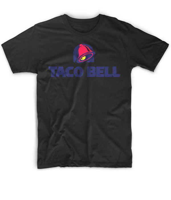 New+Black+For+Men+Tshirt+Taco+Bell+Cool+Custom+T-Shirt