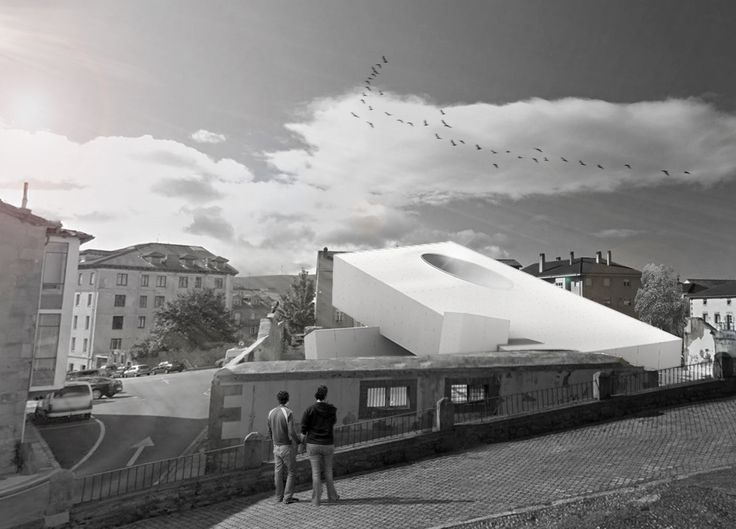 'Agora | Competition entry for a social cultural center in Reinosa | Spain 2013