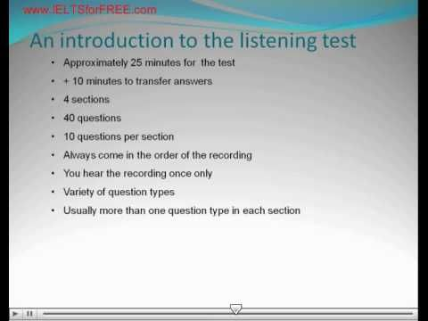 how to take note in listening test