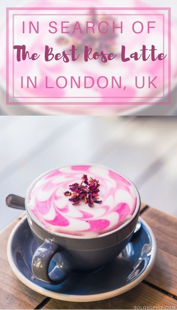 In search of the best rose latté in Shoreditch, London, England: AIDA coffee shop and concept store café review!