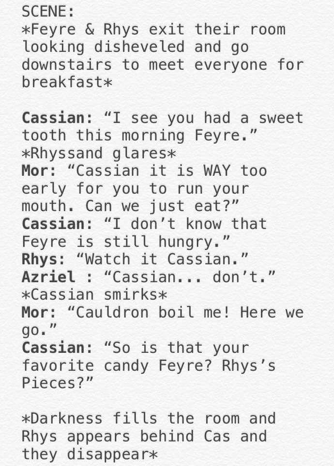 Oh My God Rhys S Pieces I Love Cassian Sarah J Maas Books