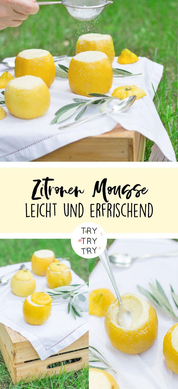 Der pure Sommer: Zitronen Mousse – Weihnachtsbloggerei