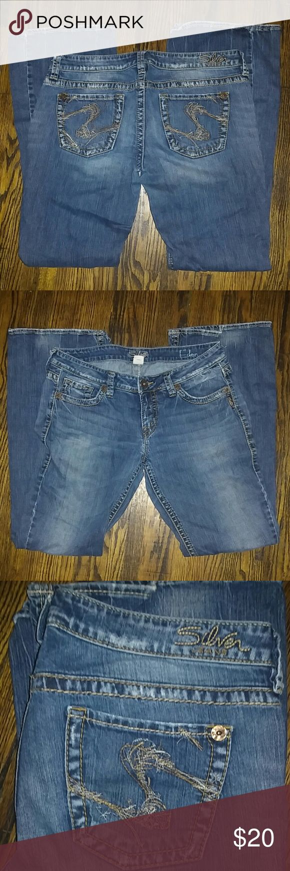 Women&39s Silver Jeans 32x35 | The end Shape and Silver jeans