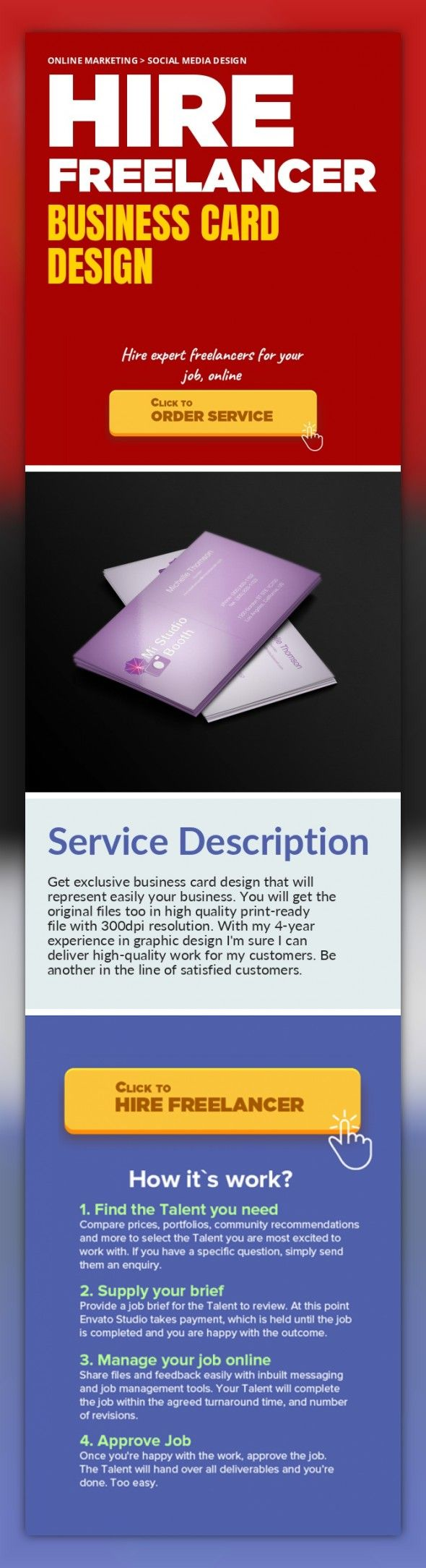 Business Card Design Online Marketing Social Media Get Exclusive That Will Represent Easily Your