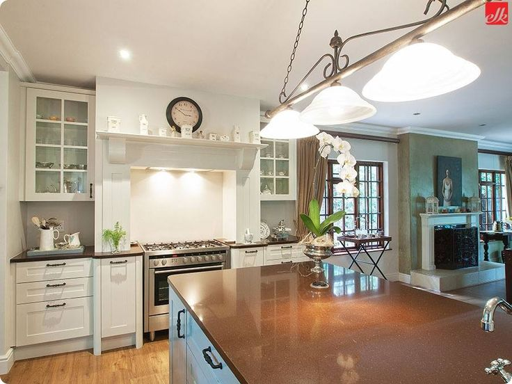But don't forget one important aspect in order to complete the look, is feature lighting.