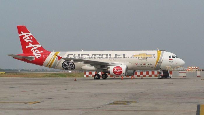 Wiih ... Chevrolet Membranding Air Asia #BosMobil