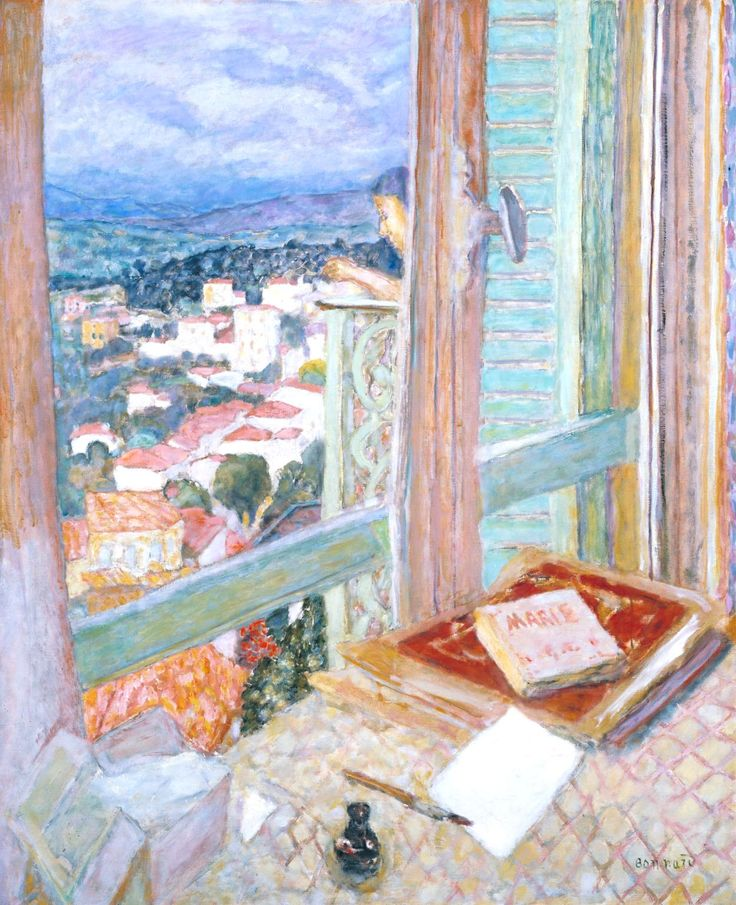 Pierre Bonnard The Window 1925