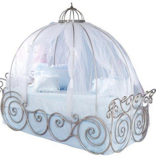 Disney Princess Carriage Bed Design