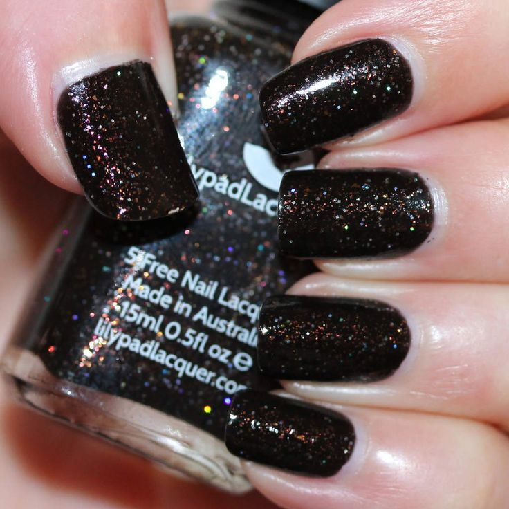 Lilypad Lacquer Black Widow (What's Indie Box - September 2015 - The Avengers)