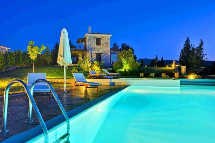 Superior Villa in Spartochori, Lefkada