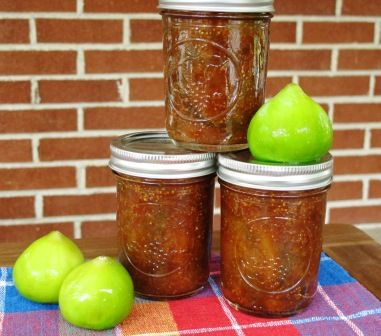 Fig Preserves in the Slow Cooker - super easy and tasty