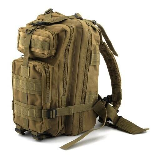 Neewer 3P Comfortable Waterproof Assault Pack Tactical Backpack Molle Bag (Khaki 20L)