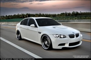 """2While I like classics, I always would want a modern car for everyday use. All I want is a nice 4-door sedan, maybe in white. This BMW M3 Sedan is in the running to be my dream """"modern"""" car."""