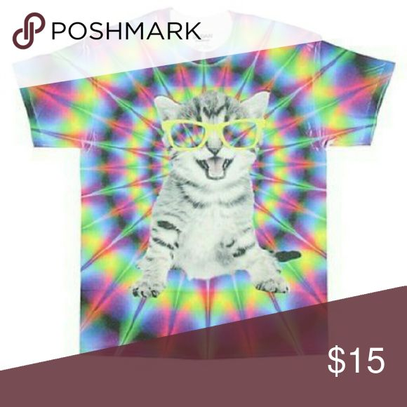 ✌Psycho Kitty Psycho Kitty Graphic T-shirt Great shirt to cut up & size down  Brand New with tags   🚫No Trades ✅Pet Friendly  🅱undle & Save Tops Tees - Short Sleeve
