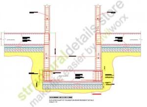 Elevator Shaft Pit Foundation Reinforcement Details