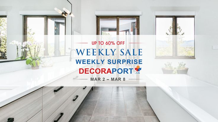Super Prices, Super Service!!! For your Home & Garden, you must see www.decoraport.ca. More Surprises!!! We have Weekly Sale up to 60% Off. Like our page, Get the news every Thursday.  8050 Blvd Taschereau, Brossard, QC J4X1C2 www.decoraport.ca  Tel: 1-888-861-7989