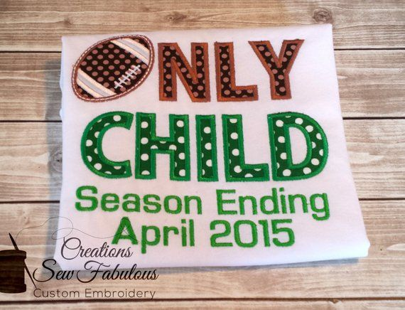 Only Child Seasoning Shirt – Pregnancy Announcement – Big Brother Shirt – Bi …  – Products