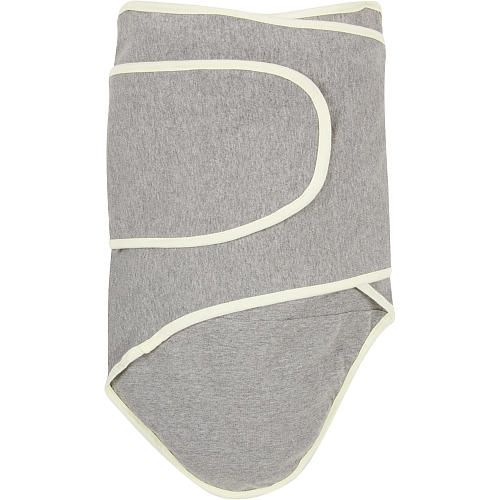 """Miracle Blanket - Grey with Yellow Trim (Newborn) - Miracle Industries - Babies """"R"""" Us"""