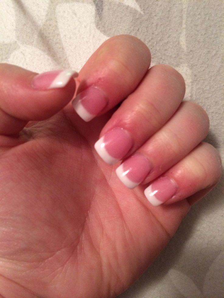 Pink U0026 White SNS Nails! | Things I Love | Pinterest | Sns Nails Nails And Pink