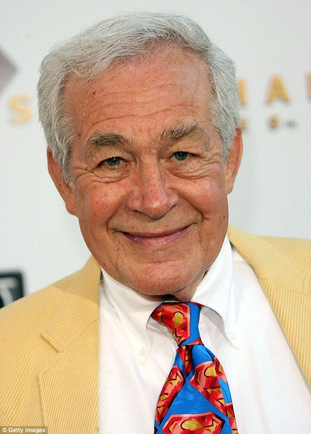 Superman returns: Jack Larson, who played Jimmy Olson,  attended the premiere of 'Superman Returns' in Westwood in 2006