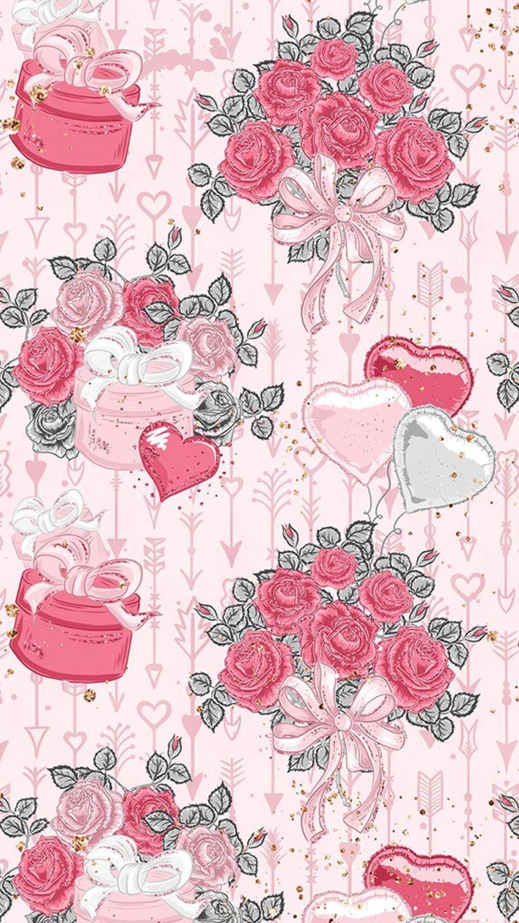 Wallpaper rosa Blume , blume wallpaper nel 2020 Sfondi
