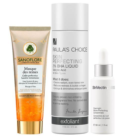 Les soins pour avoir une peau parfaite : Strivectin, Sanoflore, Paula's choice
