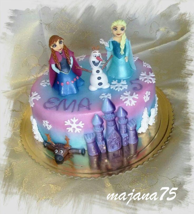 Cake frozen
