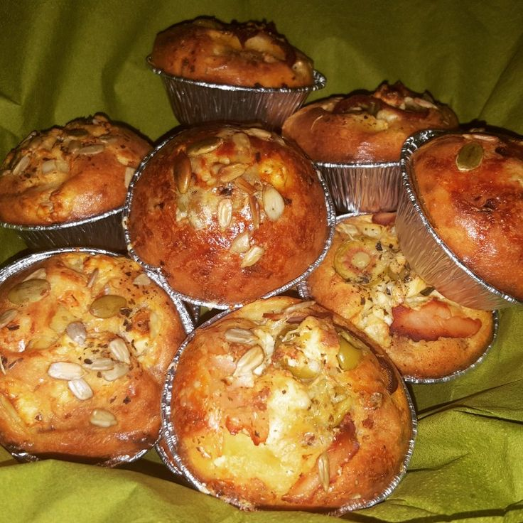 Matmuffins (feta ost och soltorkade tomater)
