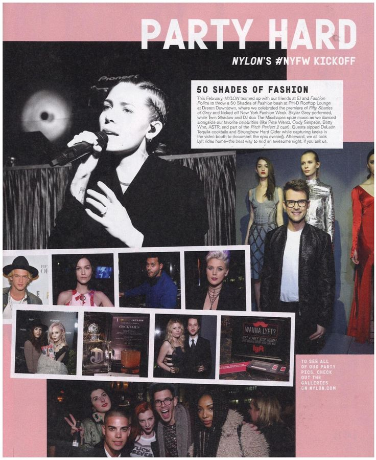 Nylon Magazine | April 2015