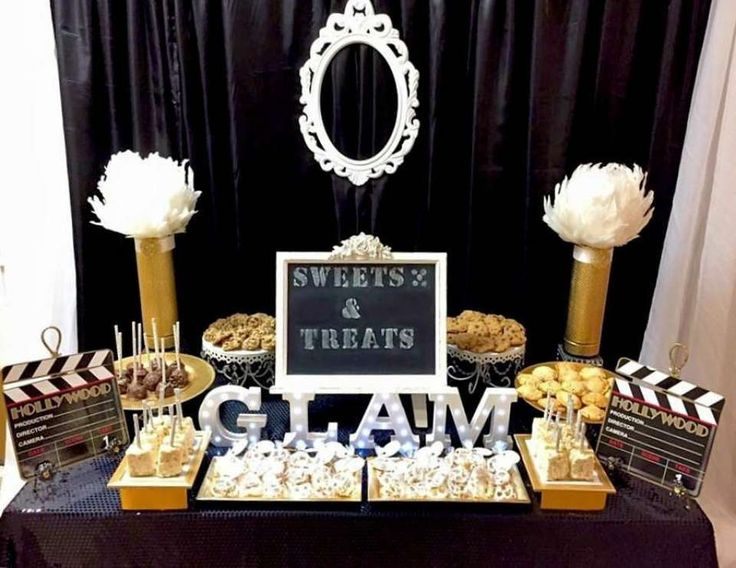 The 25 best hollywood glamour party ideas on pinterest for Hollywood party dekoration