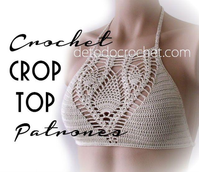 Cómo tejer crop top crochet
