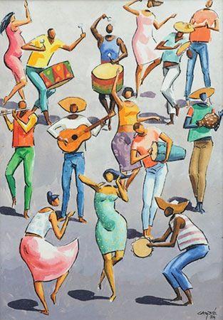Samba (1984) Carybé