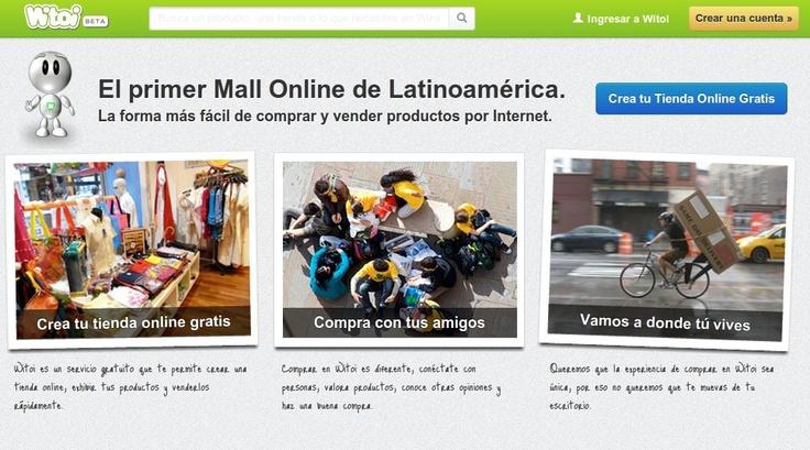 Compra productos y servicios por Internet a través de Witoi.com. También puedes venderlos sacando tu tienda completamente gratis!.