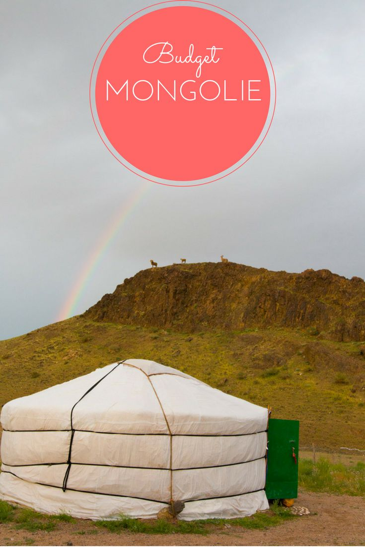 Mon budget détaillé après un mois en Mongolie!