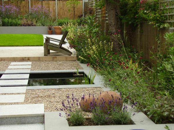 gärten kies zen garten anlegen japanische   jardins gazebos fontes, Garten und bauen