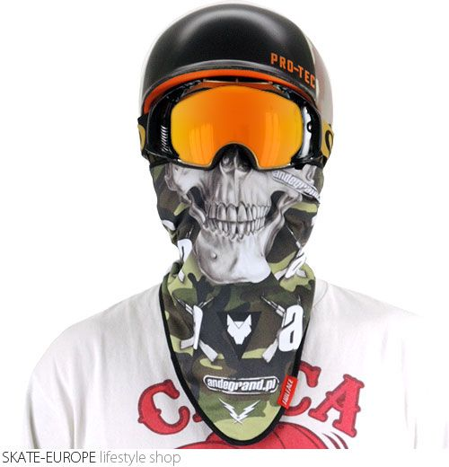 Facemask Wolface - ANDEGRAND  http://en.skate-europe.com/details/111764-facemask-wolface-andegrand-.html