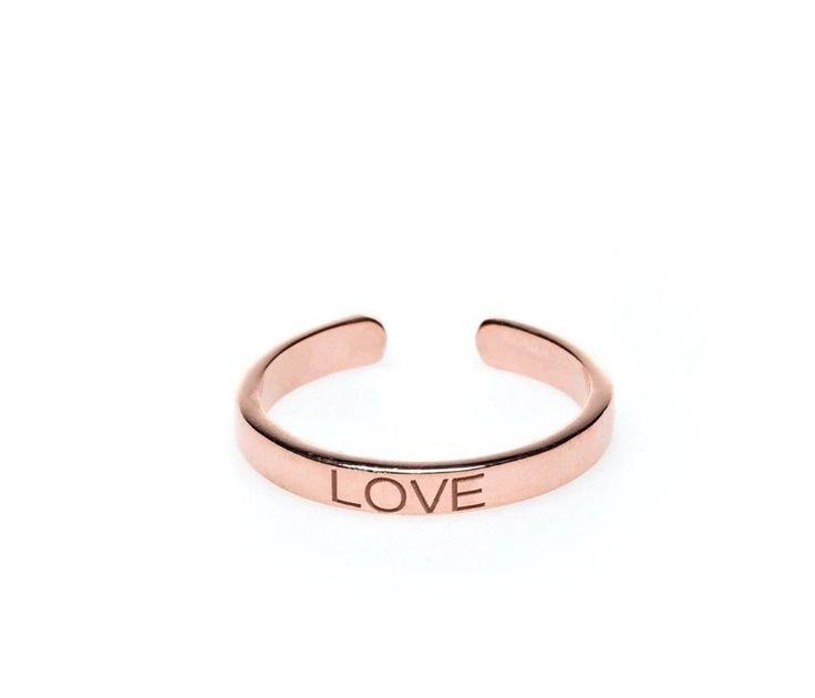 Power Quote LOVE Ring - HeidisHoff.no #love #ring #design #jewelry #heidishoff #designbyheidihoff