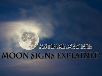 Whats The Deal With Moon Signs - (Worth figuring it out with the chart included).