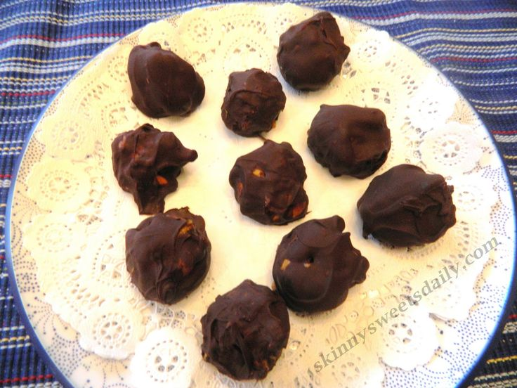 December 28:  National Chocolate Candy Day (Featured: Vegan Peanut Butter Chocolate Haystack Candies)