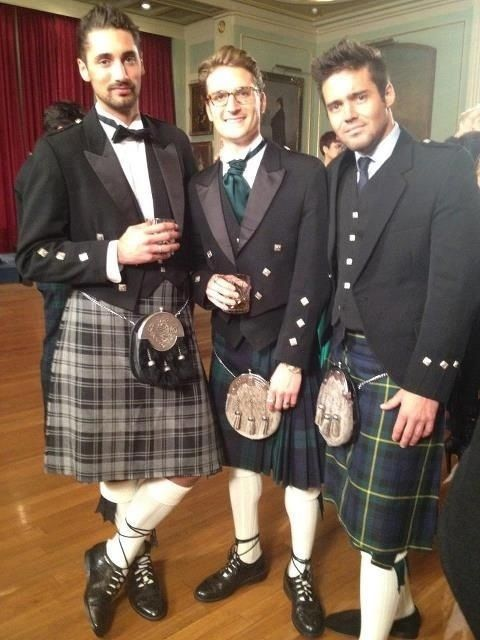 mmm.. nothing better than a toff in a kilt. Lads from Made in Chelsea