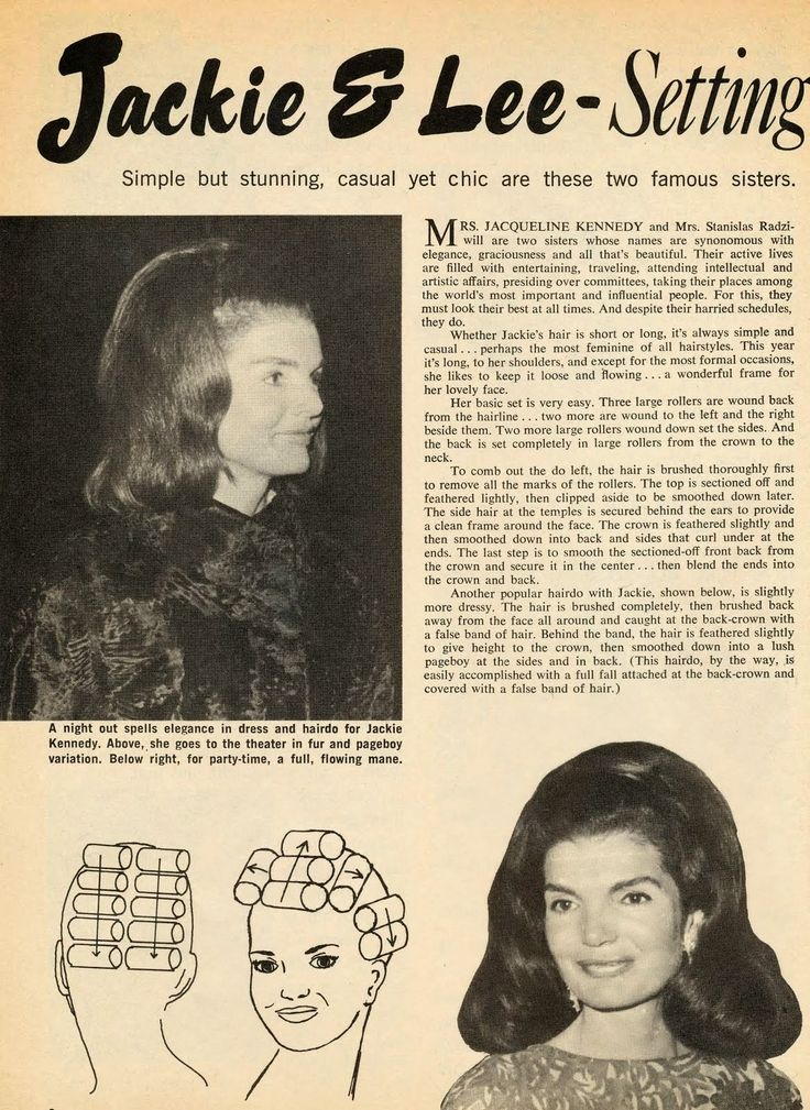 late 1960s hair tutorial / jackie o